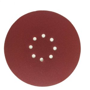 Red Hook and Loop Alumina Sanding Disc