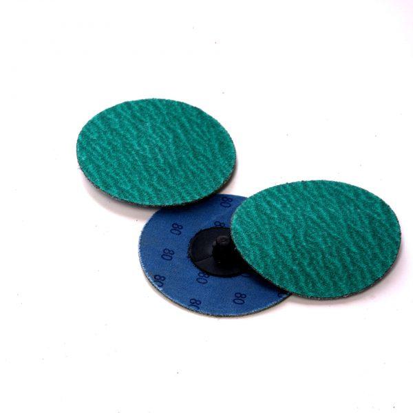 Blue deburring disc