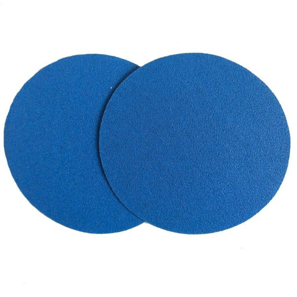 Blue Round Sandpaper Discs
